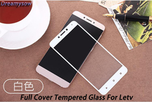 0.26mm 9H Full Cover Color Screen Protector Tempered Glass For letv Pro3 ai COOL1 le2 PRO2 1S Hard Explosion Proof Film Coque