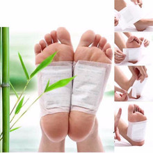 10 Sets Kinoki Detox Foot Patches Pads Body Toxins Feet Slimming Cleansing HerbalAdhesive-T4MB