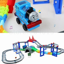 Thomas And Friends Electric Roller Coaster Train With Rainway Toy Kids Birthday Christmas Gift(China)