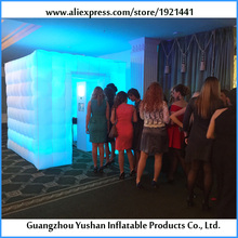 best quality fun lights LED strip inflatable photo booth wedding