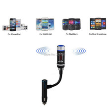2014 New Electronic Wireless Bluetooth MP3 with Car Charger Adapter Cigarette Lighter for Samsung iPhone HTC One