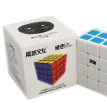Brand Moyu WeiSu 62mm Four Layer Speed Magic Cube Puzzle Diy Cubes Kids Toys Educational Toy High Quality Fast Speed(China)