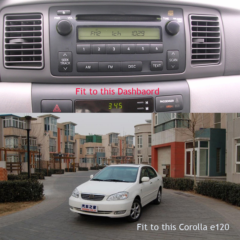 TOYOTA COROLLA E120 BYD F3 hilux e120 corolla radio android car dvd (6)