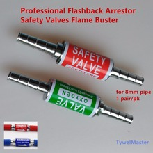 Arrester Professional Acetylene Flashback Arrester Oxygen Flashback Arrester Check Valve Flame Buster for Pipe