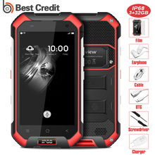 "Blackview BV6000 4G Smart Phone Waterproof IP68 4.7""HD MT6755 Octa Core Android 7.0 Mobile Phone 3GB+32GB 13MP Cam Cell phone(China)"
