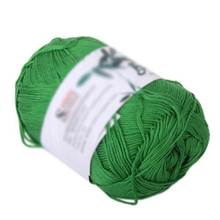 TFBC 50g Tencel Bamboo Cotton Yarn For Baby (Grass Green)