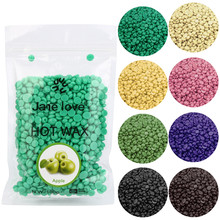 2017 New Arrival 1 Bag 50g No Strip Depilatory Hot Film Hard Wax Pellet Waxing Bikini Hair Removal Bean Navy Wholesale