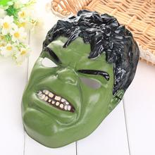 Creative Avengers Incredible Hulk Mask Halloween Christmas Cosplay Fancy Perform Prop Adult Halloween Cartoon Face Mask