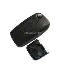 car key shell for fiat 2 button modified flip remote key blank with battery holder on back cover