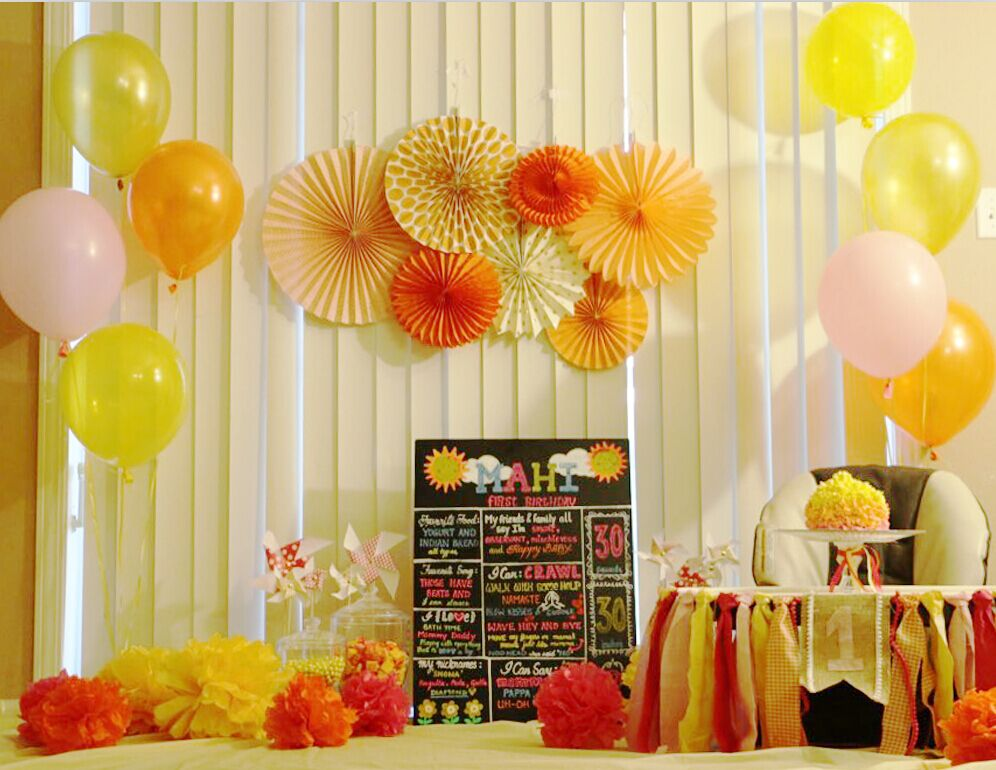 New Orange Set Paper Crafts Home Hanging Decoration Party Birthday Wedding Baby Shower Sunshine Bright Color Paper Fan 8
