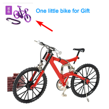 Zxz 2017 New Arrival Diy Metal Assembly Fixed Gear Bike Model Mountain Bike/ Road Bicycle Spoke Wheel Style Child Birthday Gift
