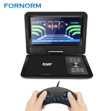 11 Inch Portable DVD Player Digital Multimedia Player With Game and radio Function 270 Degree Swivel Screen Card Read VCD MP4/5(China)