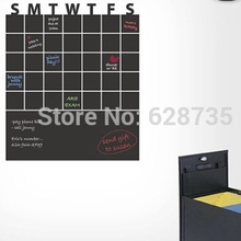 Weekly Removable Chalkboard Wall Decals Useful Chalkboard For Planning Vinyl Wall Sticker  Home and Office Decoration