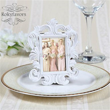 FREE SHIPPING 10PCS Elegant Baroque Mini Photo Frame Place Card Holder Favors Wedding Party  Giveaways Table Decor Supplies Idea