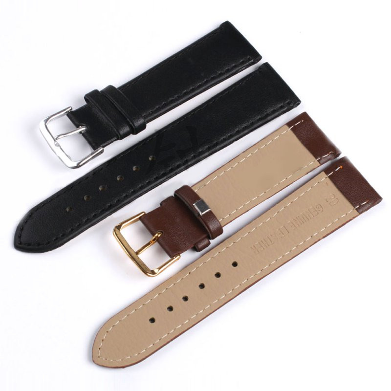 4 Colors Unisex Men Lady Watchband Faux Genuine Tablet PU  Leather Watch Strap Band Metal Buckle<br><br>Aliexpress