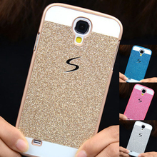 Luxury Phone case For Samsung Galaxy S4 Mini S4mini I9190 9190 i9192 i9195 Shinning back cover Sparkling Luxury Glitter