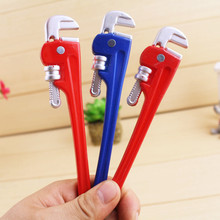 5 pcs/lot creative stationery ballpoint ball point pens tool clamp children toys' novel student kids stationery gifts 2017(China)