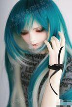 1/3 doll accessories Bjd wig doll hair various colors long straight male female girl bjd wig doll hair wire wig wool- FA06(China)