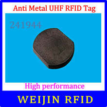 VIKITEK VT241944 UHF RFID anti metal high temperature resistance 230 degrees tag 24mm*19mm*4.4mm Alien higgs3 chip