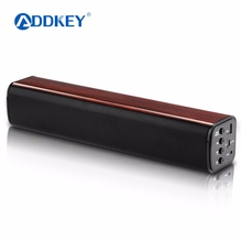 ADDKEY Portable 12w Wireless Bluetooth Speaker Soundbar Super 3D Stereo Loudspeaker with TF-card USB play Speakers for Phone TV