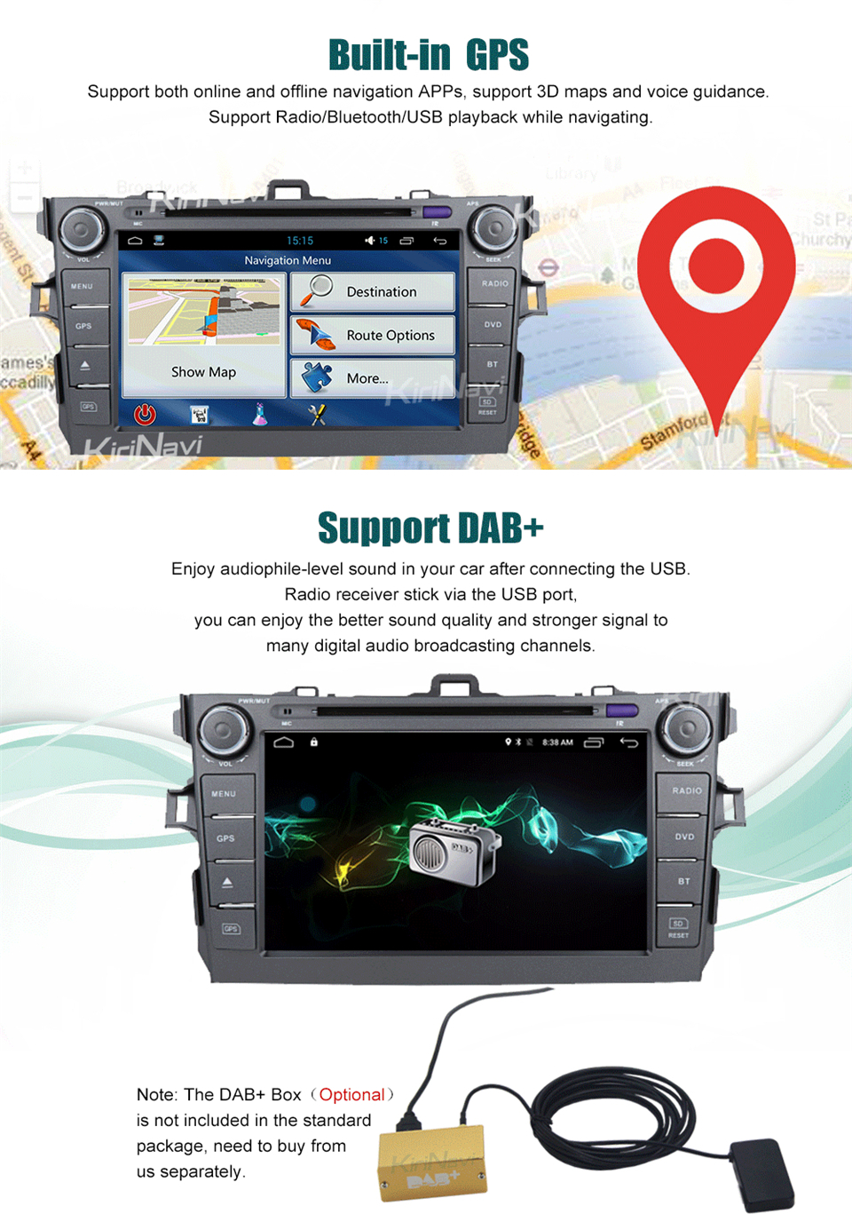 touch screen radio for toyota corolla car dvd player (6)