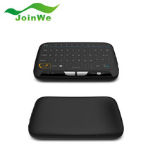 10pcs/Lot H18 Wireless Keyboard 2.4G Portable Keyboard With Touchpad Mouse for Windows Android/Google/Smart TV Linux Windows Mac