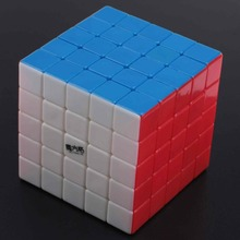 Brand new high quality [Speed Demon Cube Store]QiYi 5x5x5 MoFangGe Magic Cube Puzzle Cube  Educational Toys Children Gift Toy
