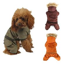 Dog Clothes Winter Warm Clothing For Pet The Corners of Fur Collar Jacket Durable Dog Winter Coat Apparel 5 Sizes