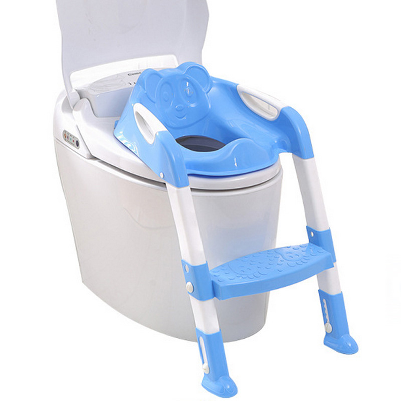 New Design Portable Folding Ladder Toilet Baby Potty Training Chair Plastic Toilet Stand Safety Seat for Children Baby YY0232<br><br>Aliexpress