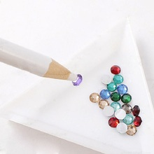 1 Piece Rhinestones Picker Pencil NAIL ART Gem Setter Pen Pick Up Tool Wax Crystal