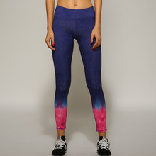 Long Colorful Yoga Pants Women Stretch Push Up Quick Dry Gym Running Sport Tights Women Yoga Leggings Sportswear Shop Online(China)