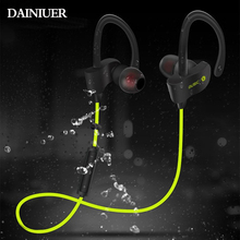 DAINIUER 56S Sport Wireless Bluetooth Earphone Stereo Earbuds Headset Bass Earphones with Mic In-Ear for iPhone 6 xiaomi Phone