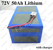 Great Power 72v 50Ah battery pack 3000w 4000w high drain BMS for tricycle bikes electric tricycle scooter wheelchair 15A Charger