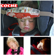 Baby Car Seat Headrest Sleeping Head Support Pad cover For Kids travel interior accessories children Safety belt A1125(China)