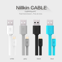 Accessories USB Data Cable For Port Devices For iPhone 5 5S 6 6S Plus iPad iPod Products Flat USB Charge 120cm 5V 2A