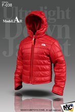 "*Magic Cube Ultralight Down Jacket Set Red for 12"" Action Figures MC-F038A Model"