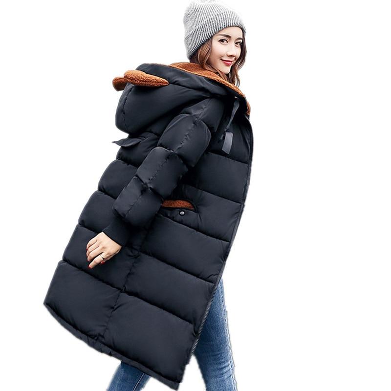 Thick Cotton Warm Plus Size Padded Newest Parkas Women Winter 2017 Military Camouflage Print Hooded Parka Winter Jacket TT2832Îäåæäà è àêñåññóàðû<br><br>