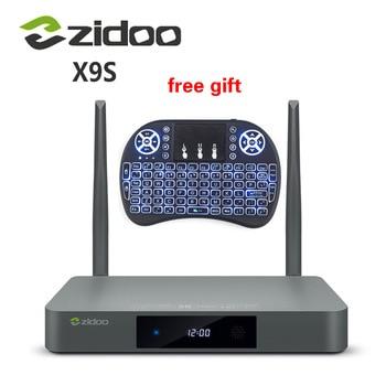 [Genuine] ZIDOO X9S TV BOX Android 6.0 + OpenWRT(NAS) Realtek RTD1295 2G/16G 802.11ac WIFI Bluetooth 1000M Media Player