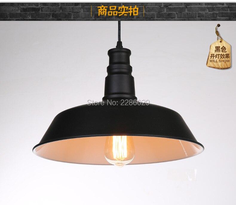 D 36cm Fashion industrial lamp hanglamp Pendant lights for dining room and bar e27 110v/ 220v<br>