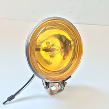 12v/24v 55W Halogen car fog light truck Motorcycle Offroad Autos spot head light day driving Light Front Side Rear Marker lamps