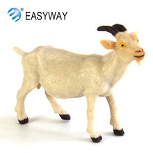 EASYWAY Simulated Farm Animals Models Figures Action Plastic Sheep Toys for Children Educational Collection Children Gift Goat(China)