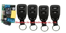 Mini RPWM AC 220 V 10 A 1 channel 4* Transmitter + 1* Receiver Learning code Simple operation 315/433MHZ