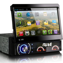 7 inch Android 1080P Video HD Touch Screen radio Single 1 Din car DVD Player GPS BT WIFI CD DVD RADIO PLAYER