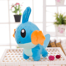 about 20cm anime figure Mudkip plush toy soft doll birthday gift b0668