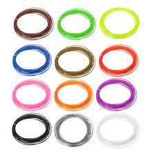 10M 3d printer 1.75mm Print Filament PLA Materials 3D Printer Accessories 11 Bright Colours Candy Colors