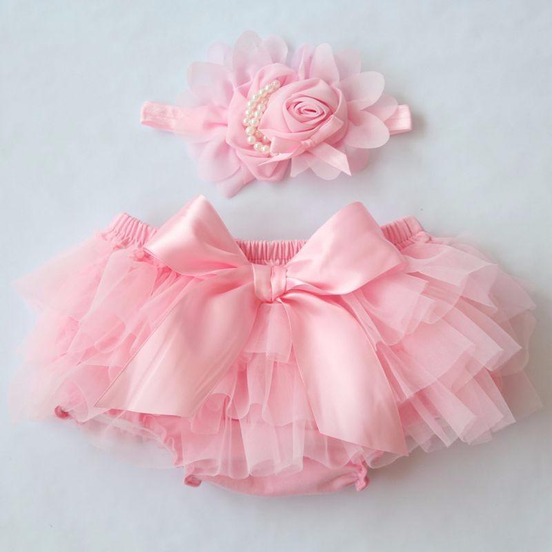 Baby Cotton Chiffon Ruffle Bloomers cute Baby Diaper Cover Newborn Flower Shorts Toddler fashion Summer Clothing 4