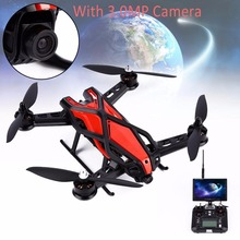 Red 250mm 2.4Ghz 6-Aixs Gyroscope 7CH 3.0MP FPV Racing RC Quadcopter UAV Cool