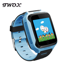 TWOX Q528 GPS Smart Watch for kids With Camera Flashlight Baby Watch SOS Call Location Tracker children Safe pk q90 q50(China)