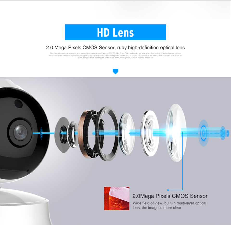 720P IP Camera Wi-Fi Wireless CCTV Home Security Camera WiFi Surveillance IP Camara Network P2P Indoor Wifi Camara Baby Monitor