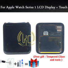 For Apple Watch Series1 LCD Display With Touch Screen Digitizer Assembly Replacement Parts 38mm42mm Sport/Sapphire With Adhesive(China)